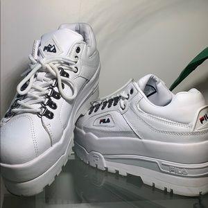 FILA Trailblazer Platform Sneakers NWT